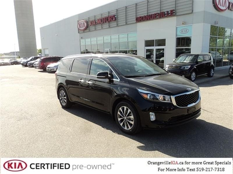 2016 Kia Sedona SX+ 7-pass - Leather - CarProof $0 #K0480