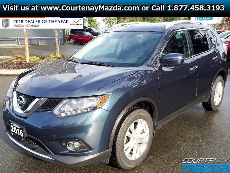 2016 nissan rogue sv awd cvt used for sale in courtenay at courtenay mazda. Black Bedroom Furniture Sets. Home Design Ideas