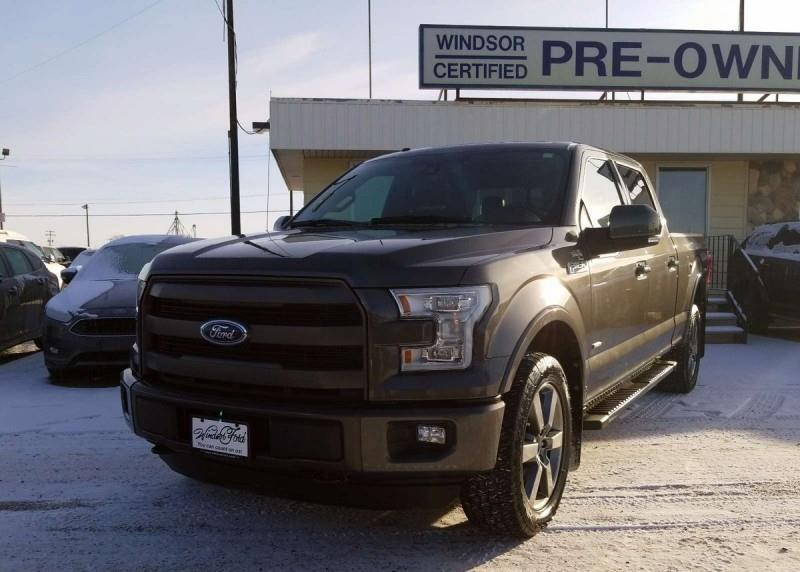2015 Ford F-150 Lariat  - Leather Seats - #T1803