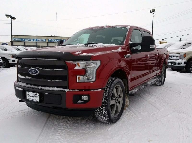 2015 Ford F-150 Lariat  - Leather Seats - #T1801