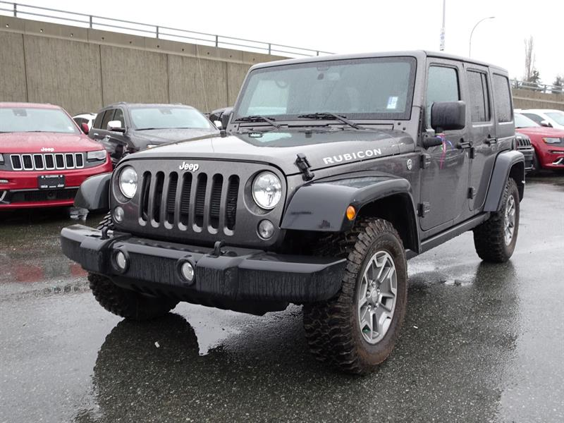 2016 Jeep Wrangler Unlimited Rubicon #19UP137