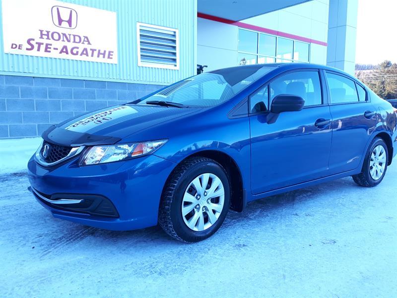 Honda Civic 2014 DX **pour seulement 8 925$ +tx 1er et 2e chance... #j127a