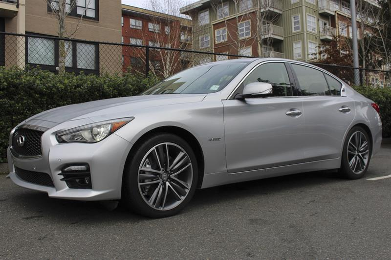 2014 infiniti q50 4dr sdn hybrid awd used for sale in victoria at campus acura. Black Bedroom Furniture Sets. Home Design Ideas