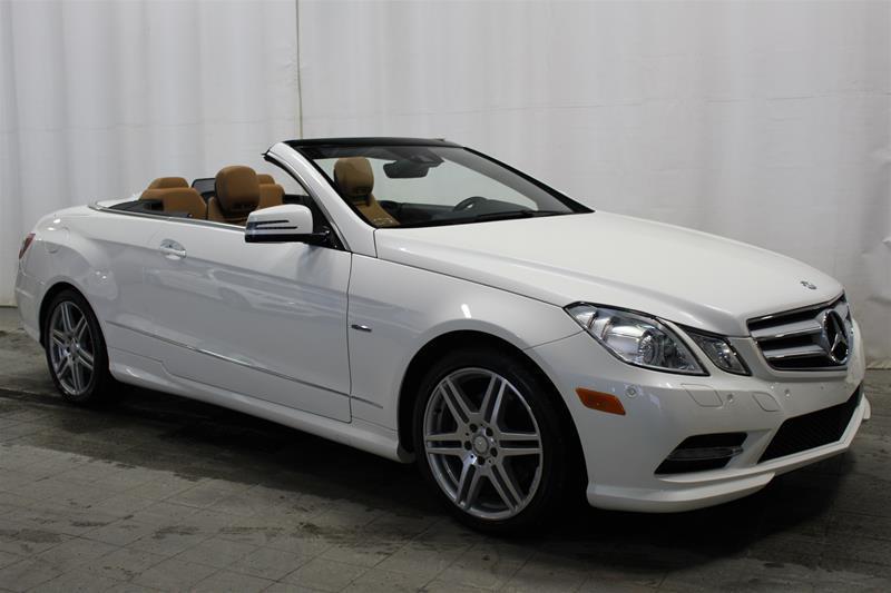 Mercedes-Benz E350 2012 Cabriolet *SIÈGES CLIMAT-CONFORT* #U18-022