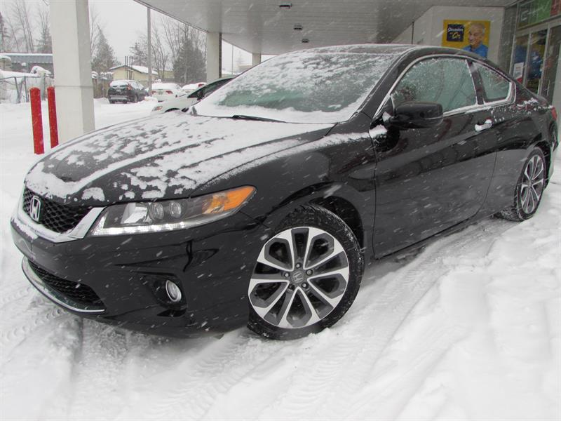 Honda Accord Coupe 2014 2dr V6  EX-L w-Navi #318147-1