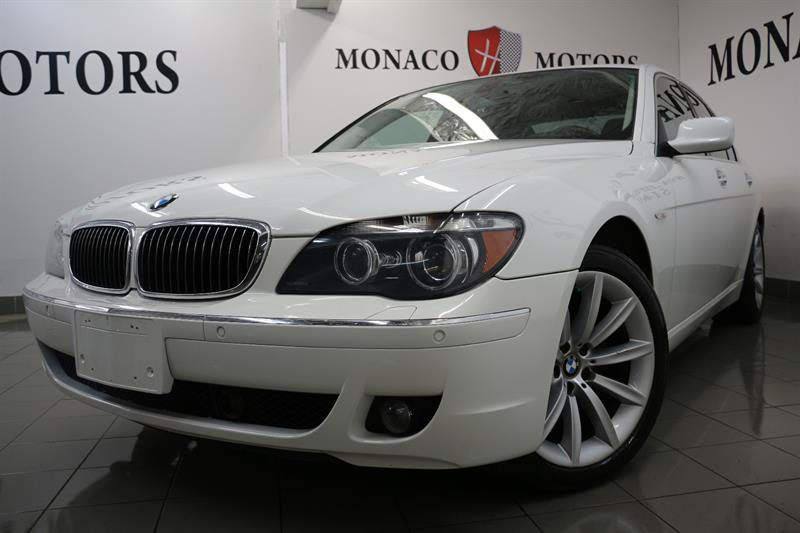 2008 BMW 7 Series 750i NAV PRK SENS MASS HEAT COOL SEATS #8194