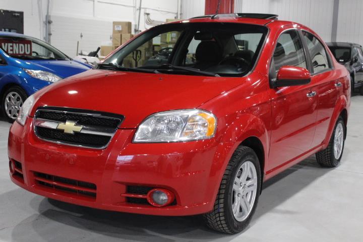 Chevrolet Aveo 2010 LT 4D Sedan #0000000532