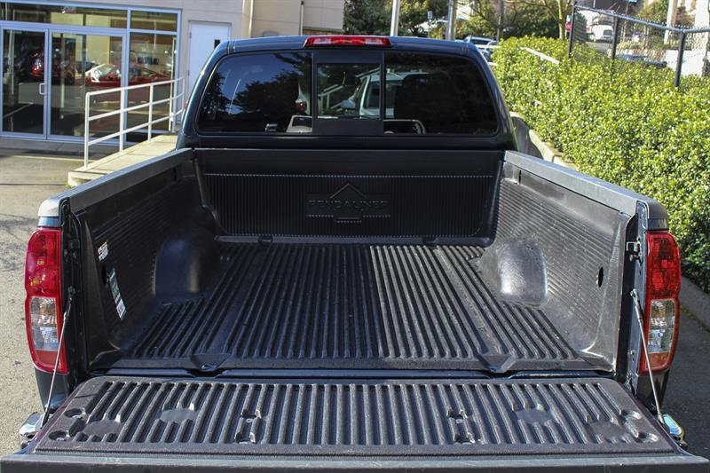 **BC DRIVEN**LOW KM**BED LINER**. This Blue 2017 Nissan Frontier ...