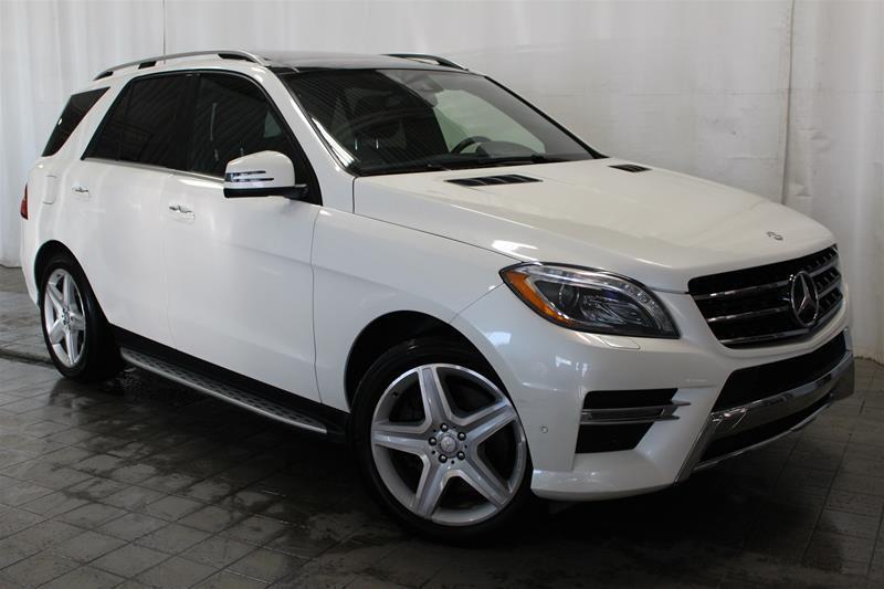 Mercedes-Benz ML550 2013 4MATIC BLANC DIAMANTÉ #U17-466A