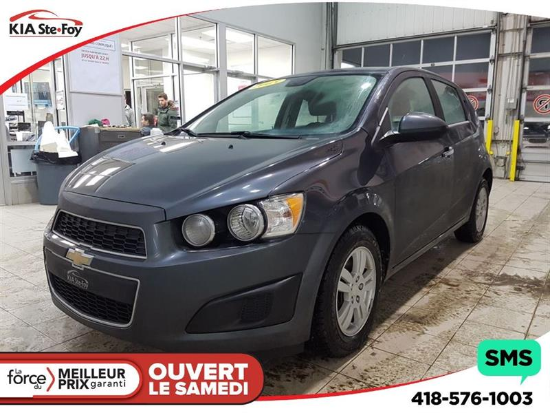 2013 Chevrolet Sonic LT * A/C ** SIÈGES CHAUFFANT * #180022A