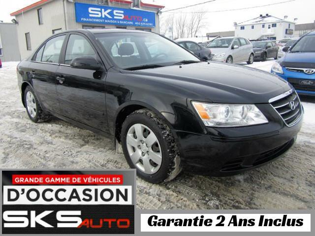 Hyundai Sonata 2009 GL (GARANTIE 2 ANS INCLUS) VEHICULE D'OCCASION #SKS-4016-