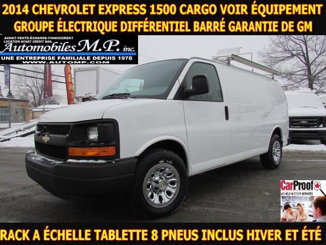 Chevrolet Express Cargo Van 2014 1500 CARGO GARANTIE DE GM VOIR ÉQUIPEMENT #N-1747