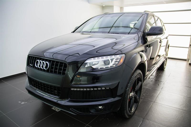 Audi Q7 Black optic pack , Navigation, 7 pass 2015