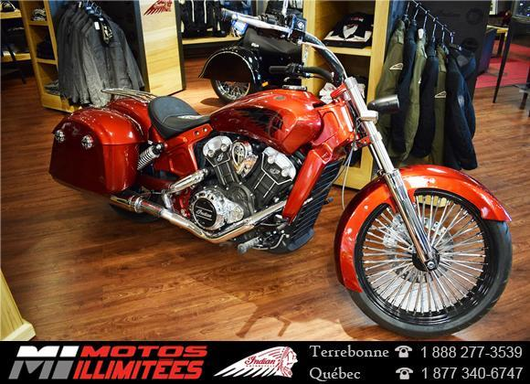 Indian Chief Scout Jack Daniels 2016