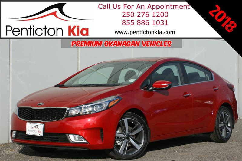 2018 Kia Forte Ex+ Power Sunroof, Apple CarPlay, Heated Seats #18FT01