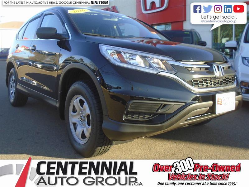 2016 Honda CR-V LX | AWD | Bluetooth | Cruise Control | A/C #U1616