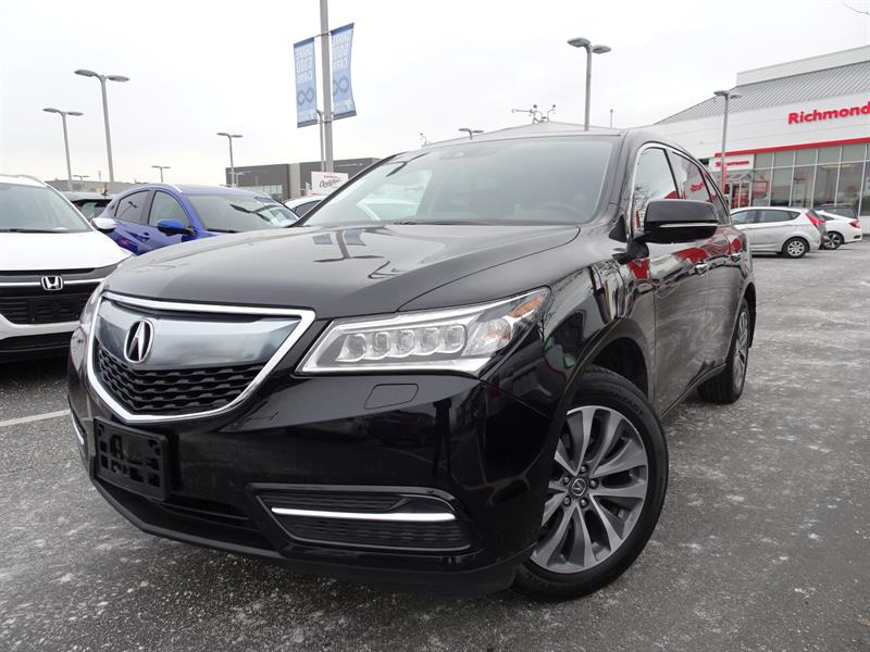 2016 Acura MDX NAVIGATION! Balance Of Factory Warranty! #LH7897
