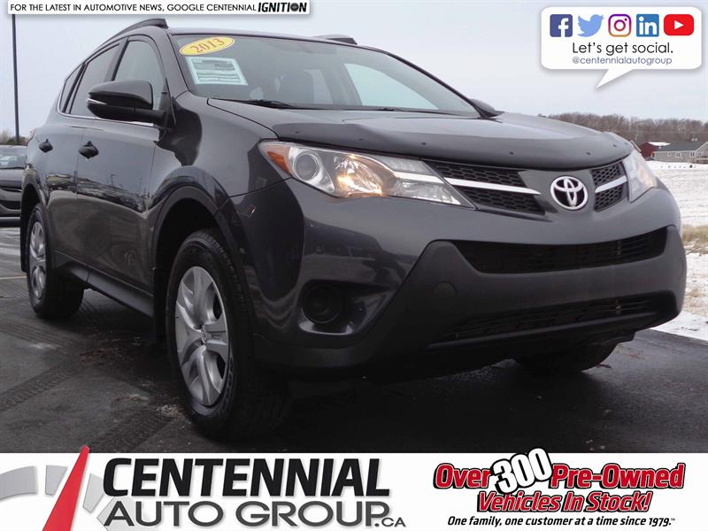 2013 Toyota RAV4 LE | 2.5L | i4-Cyl | Bluetooth | Backup Camera #S17-348A