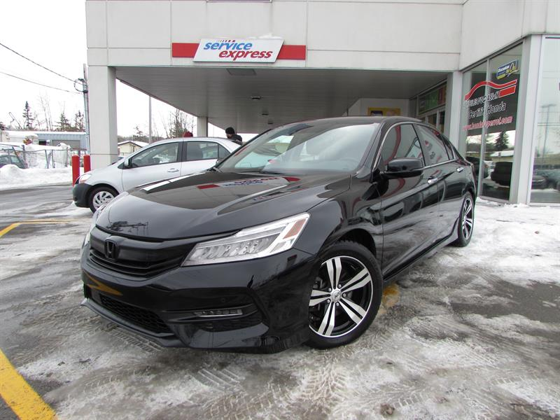 Honda Accord Sedan 2017 4dr I4 CVT Touring 8 PNEUS SUR MAG HIVER ET ÉTÉ #44346