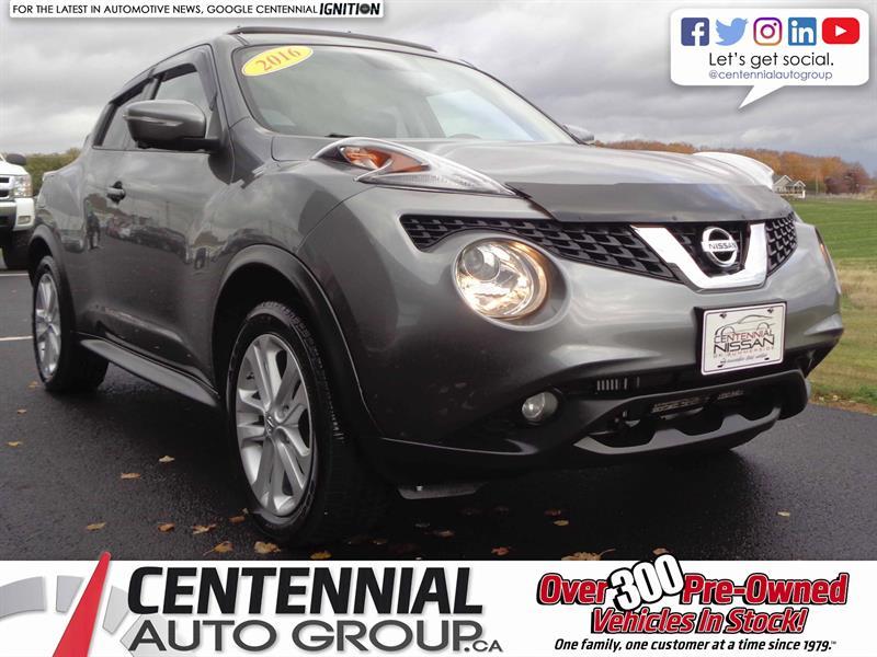 2016 Nissan Juke SL | AWD | Moonroof | Navi | Leather | #SP17-041