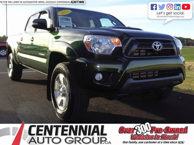 2013 Toyota Tacoma 4WD | Double Cab | TRD #S17-284A