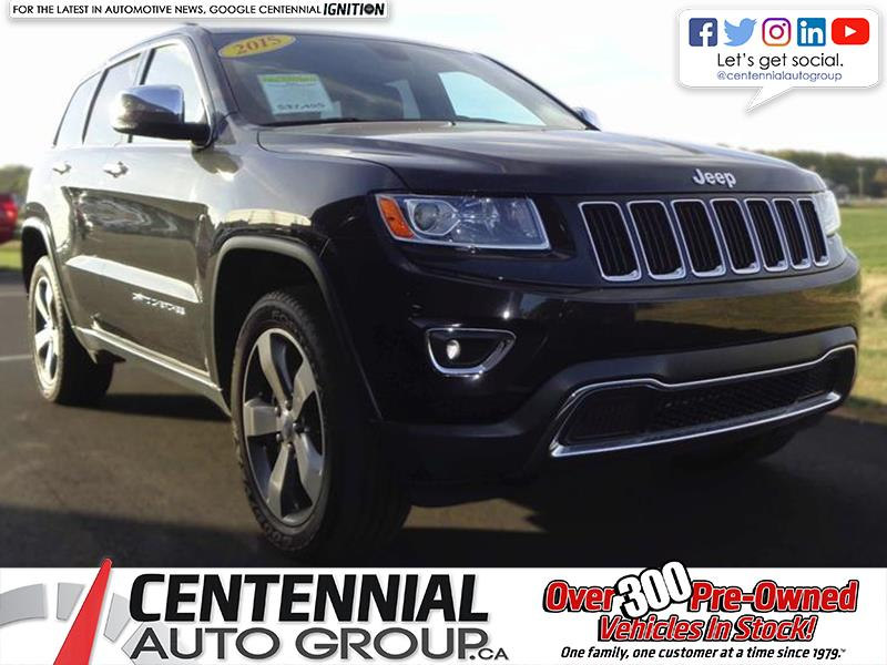 2015 Jeep Grand Cherokee Limited | 4WD | 3.6L | V6 | Bluetooth #SP17-050