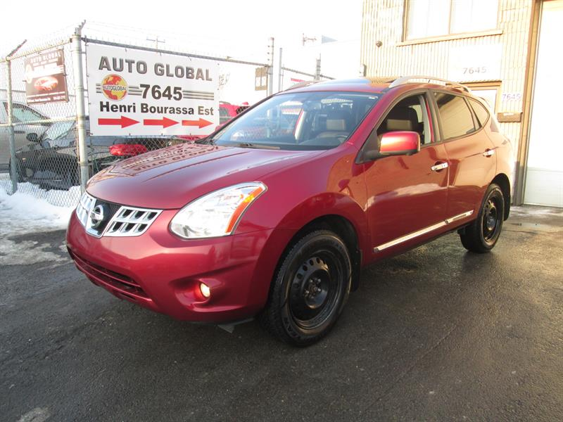 Nissan Rogue 2013 AWD 4dr,SL,CAMÉRA DE RECUL,GPS,TOIT OUVRANT,8PNEUS #17-1404