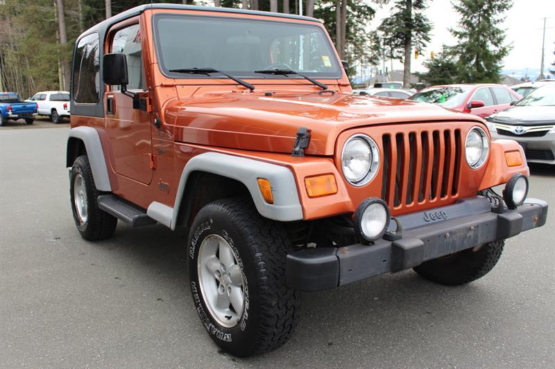 2001 Jeep TJ 2dr Sport #11693A