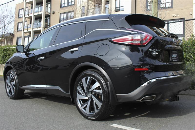 2016 nissan murano platinum awd used for sale in victoria at campus nissan. Black Bedroom Furniture Sets. Home Design Ideas