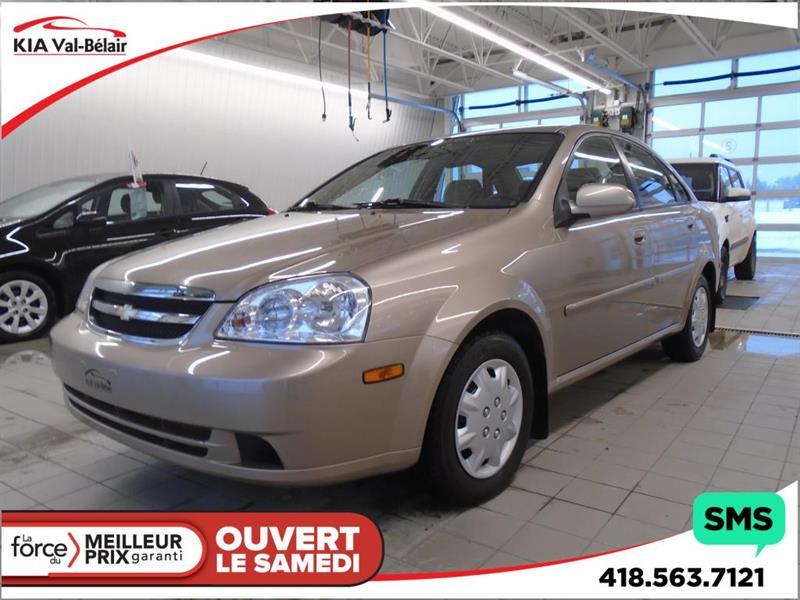 2004 Chevrolet Optra LS* AUTOMATIQUE* CRUISE CONTROL* TRÈS BAS KILO * #V180112B