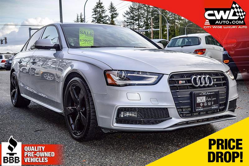 2014 Audi S4 Premium Plus - Progressiv *LOCAL / NO ACCIDENTS* #CWL7933M