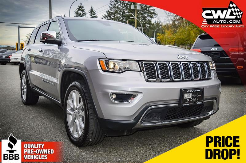 2017 Jeep Grand Cherokee 4WD 4dr Limited *SALE* #CWL8168M