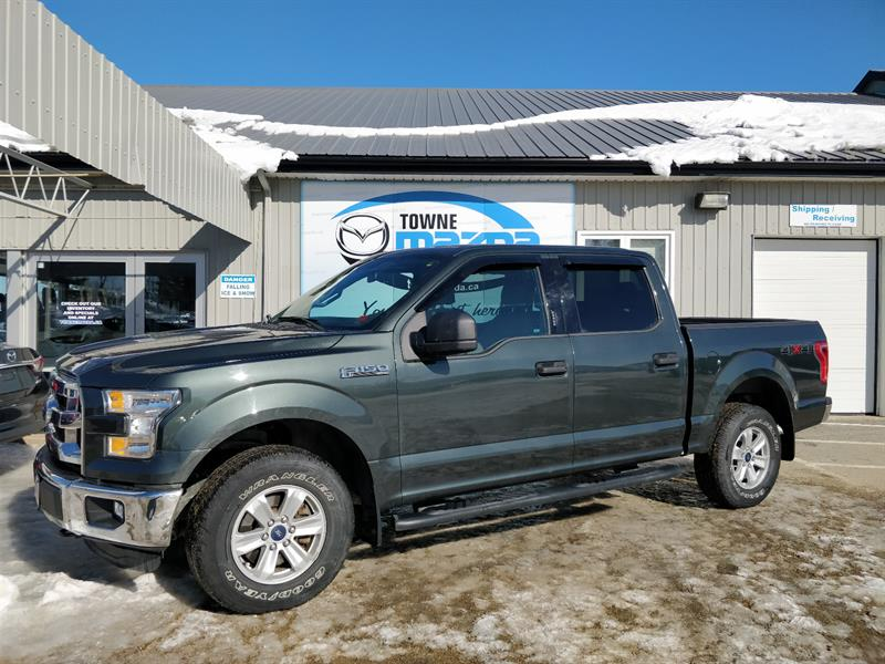 2015 Ford F-150 4WD SuperCrew 145 XLT #MM786