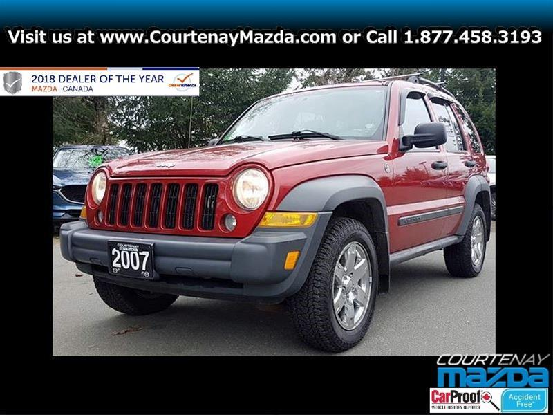 2007 Jeep Liberty 4Dr Sport #P4569