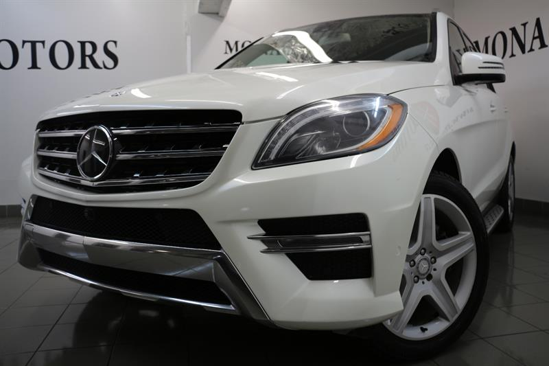2015 Mercedes-Benz M-Class ML 350 BlueTEC PREMIUM AMG TECH PKG #8197