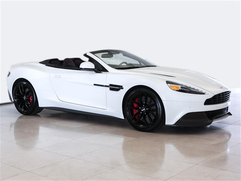 Aston Martin Vanquish 2017 Volante NEW CAR CALL FOR LEASE AND FINANCE RATES #17A010