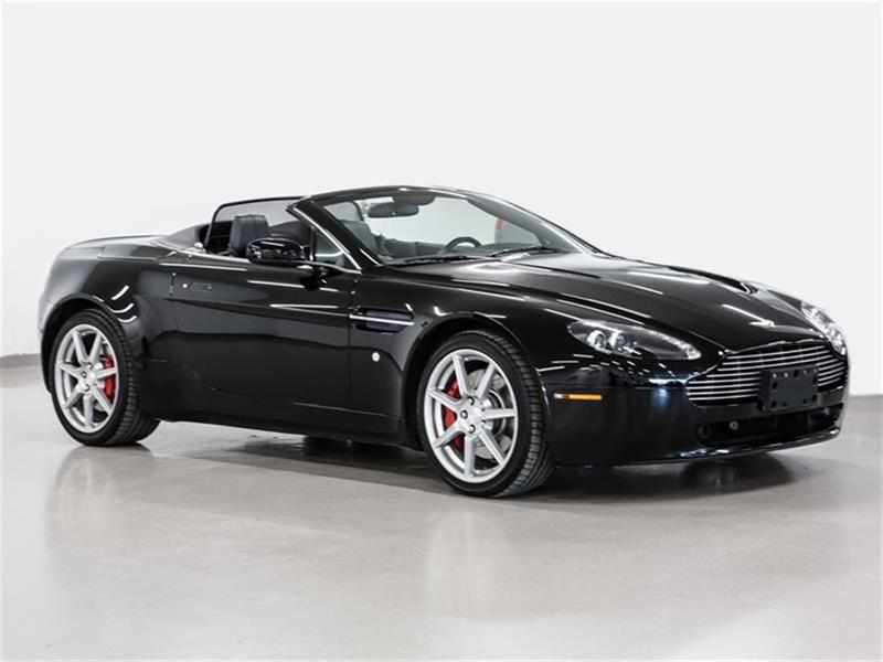 Aston Martin V8 Vantage 2009 Roadster Sportshift inspected and ready for sale #P1968