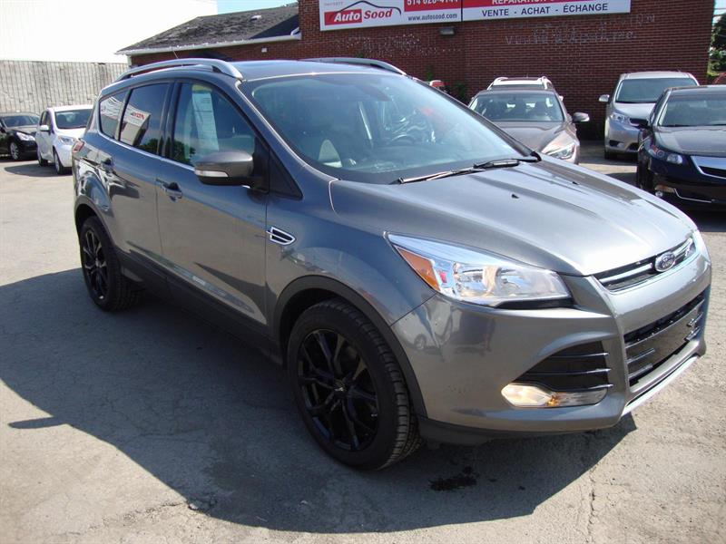 Ford Escape TITANIUM AWD NAVI-PANOROOF-18