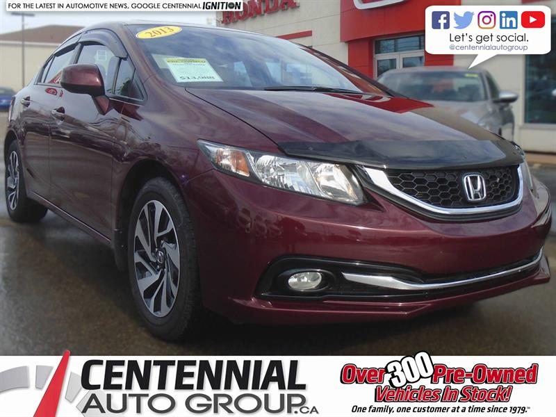 2013 Honda Civic Sedan Touring | 1.8L | Navigation | Bluetooth #8875A