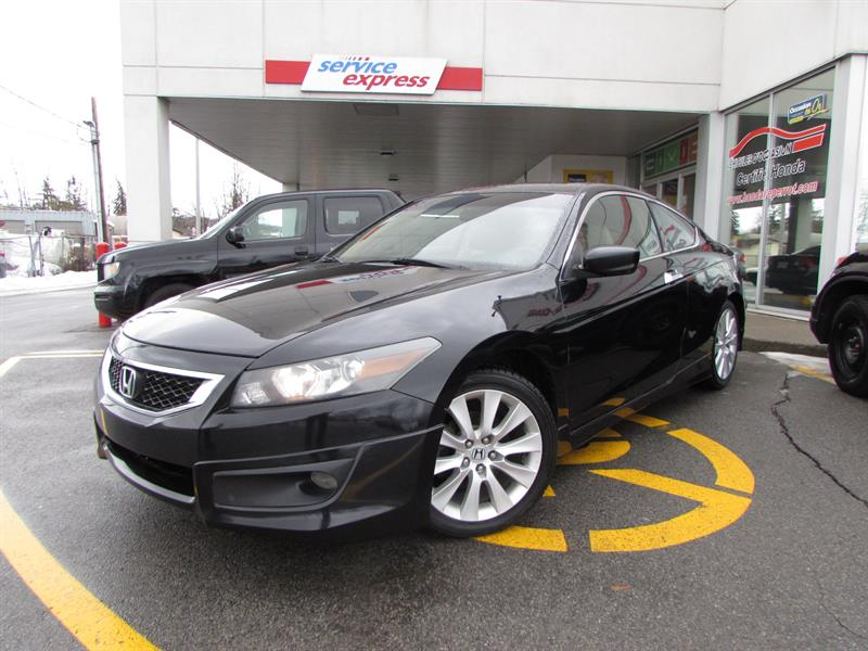 Honda Accord Cpe 2008 2dr V6 Man EX-L #318025-1