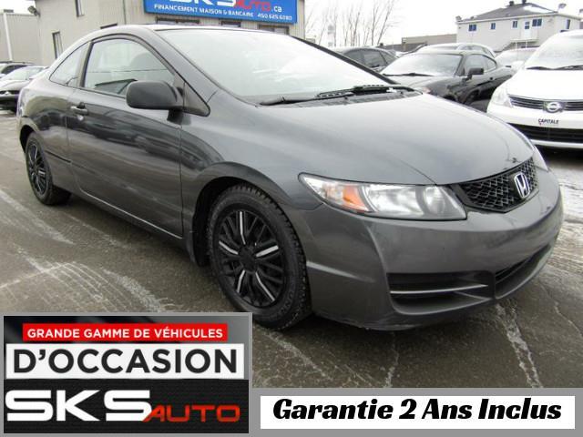 Honda Civic Cpe 2009 LX (GARANTIE 2 ANS INCLUS) *FINANCEMENT MAISON* #SKS-3991-7