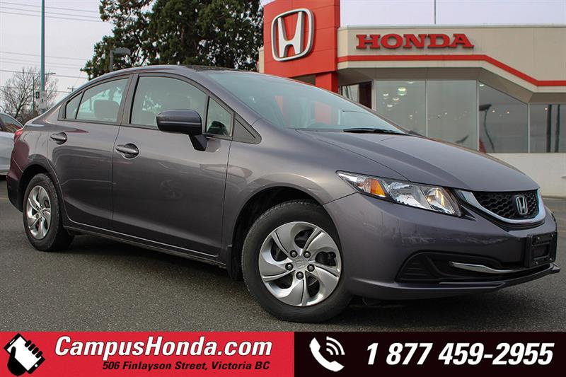 2015 Honda Civic Sedan LX Auto Bluetooth #B5388