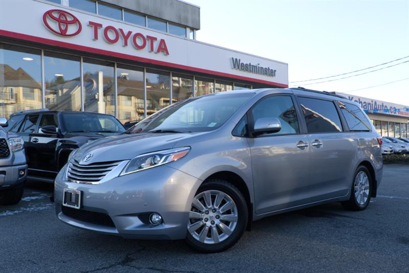 2015 Toyota Sienna Limited All Wheel Drive #P6487T