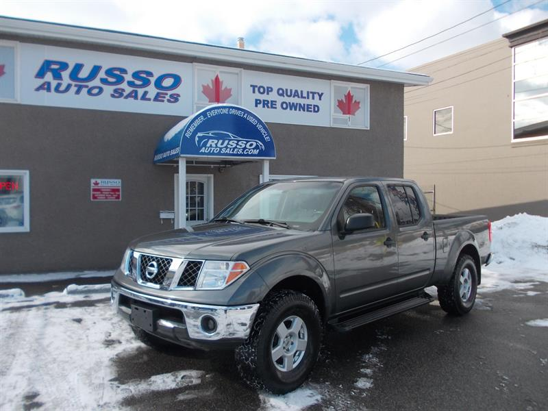 2007 Nissan Frontier 4WD Crew Cab LWB #3208