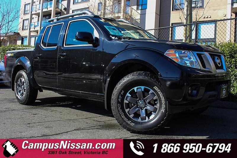 2015 Nissan Frontier Crew Cab PRO-4X w/ BackUp Cam #JN2814