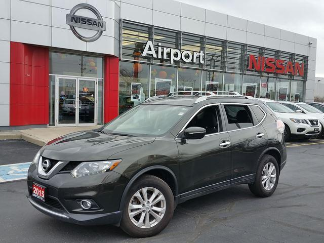 2015 Nissan Rogue SV ALOY WHEELS, SUNROOF, PUSHB #P1632