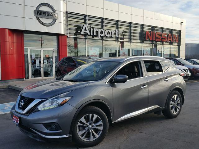 2015 Nissan Murano SL LOADED,LEATHER,NAVI,ROOF,AL #P1753