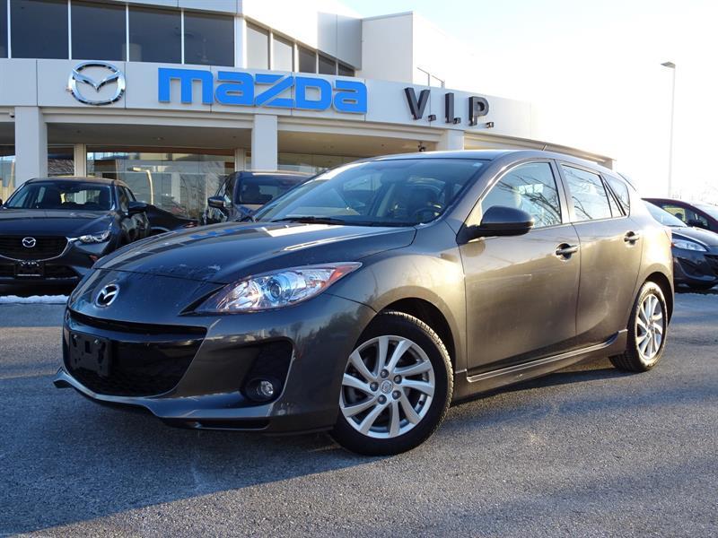 2012 Mazda MAZDA3 GS, LEATHER, SUNROOF #B7478