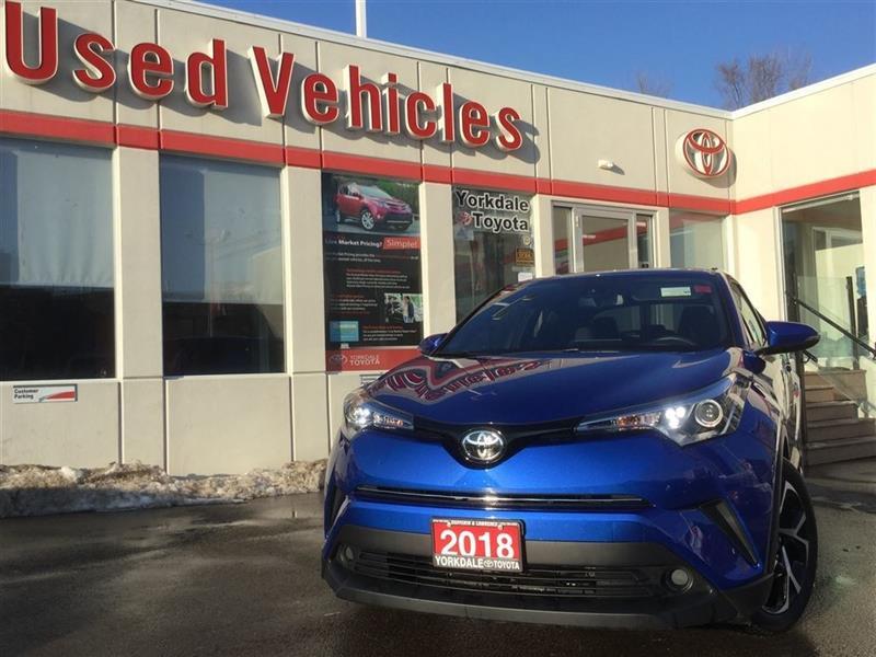 2018 Toyota C-HR XLE- B.CAM, P.START, B.TOOTH, CRUISE, ALLOYS #P7043
