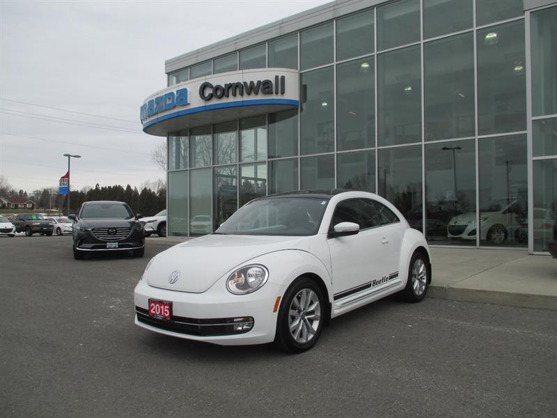 2015 Volkswagen Beetle Coupe 2dr Cpe 1.8 TSI Auto Comfortline